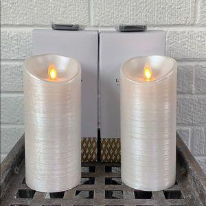 4 Sets of Perfectly Imperfect Luminara Candles